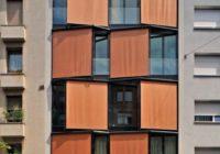 Уникална архитектура на жилищна сграда